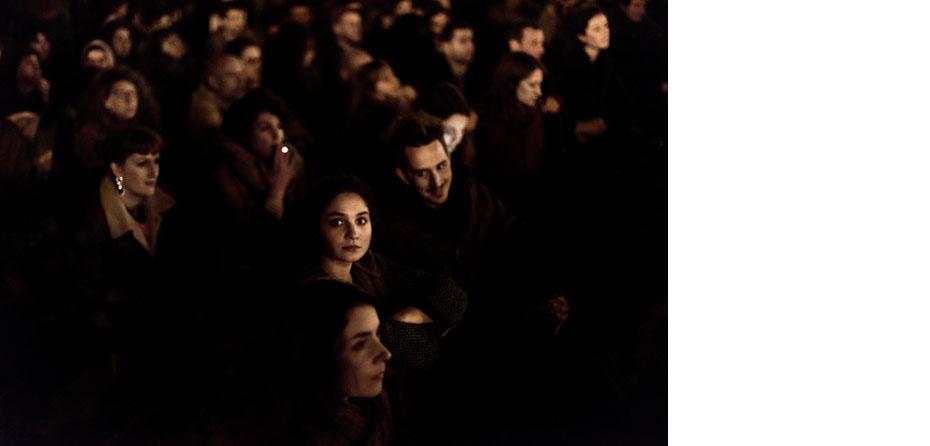 #NuitDebout Rassemblement et occupation populaire sur la place de la République à l'appel de convergences des luttes. Le mouvement a debuté le 31 mars 2016.  Paris, France 05/04/2016  #NuitDebout mouvement, inspired by The Indignants and Occupy has occupied Paris's Place de la République since 31th March 2016.  Paris, France 04/05/2016